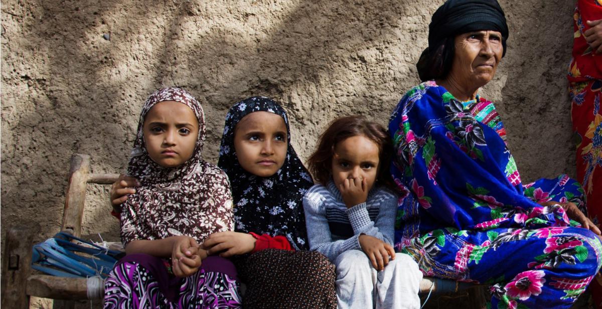 Pictured: community members supported by a Progressio WASH project in Yemen. © Amira Al-Sharif/Progressio 2014