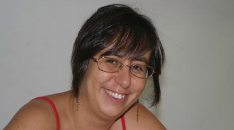 Development worker Ainara Arregui García