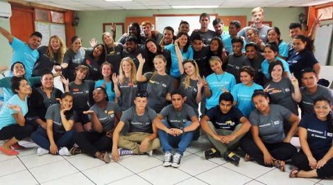El Salvador team photo