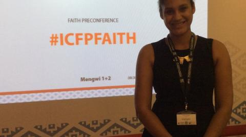 Fatima at the ICFP faith pre-conference