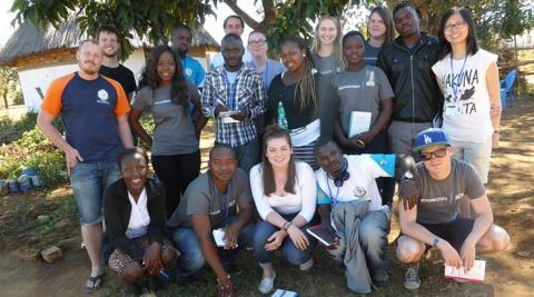 The whole DOMCCP team on a planning day at the St. Matthias Mission ward in the Mutasa District of Manicaland Province