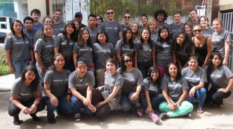 ICS volunteers in Honduras