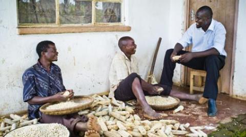 Development worker Innocent Ogaba