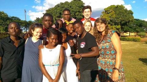Team Uwemi in Lilongwe