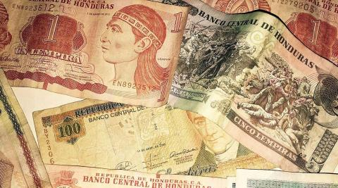 Lempiras, the national currency of Honduras