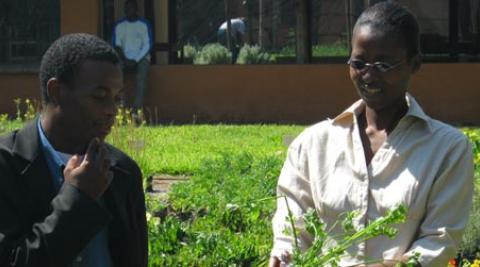 Development Worker Melody Kwanayi