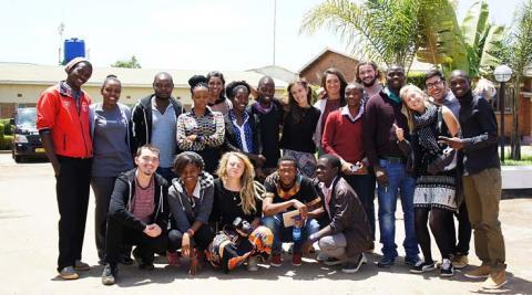 Team Zeneko in Malawi