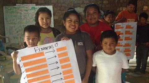 Finance workshop in Yamaranguila