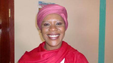 Development worker Regina Nyelenda