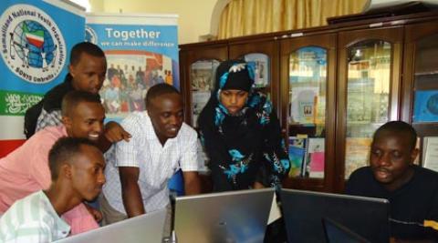 Development Worker Stephen Mwalo