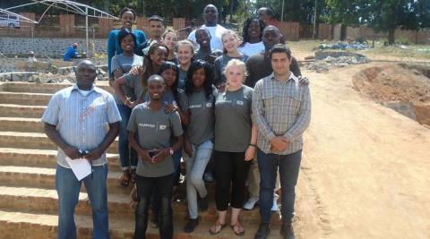 Team Tovwirane Mzuzu at their mid-term review
