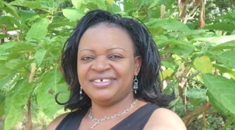 Development worker Viola Kuhaisa Muhangi