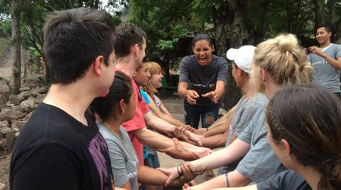 Progressio International Citizen Service team in Nicaragua