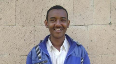 Afi, a Somali refugee living in Yemen