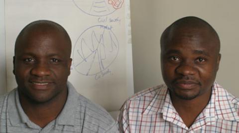 Christopher Mweembe and Machinda Marongwe