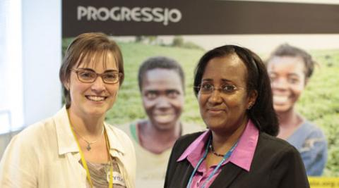 Christine Allen, Executive Director, and Suad Abdi, Somaliland Representative