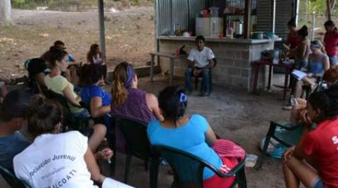 Workshop in El Salvador