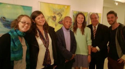 Volunteers Meet the Honduran Ambassador