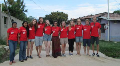 Honduras volunteers