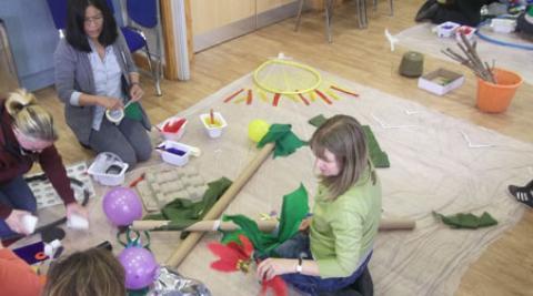 Children's centre workshop