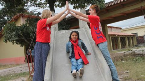 volunteer, ICS, Honduras, children's home