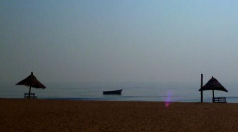 The beach at Lake Malawi