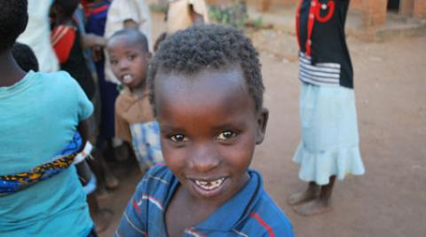 A boy in Malawi