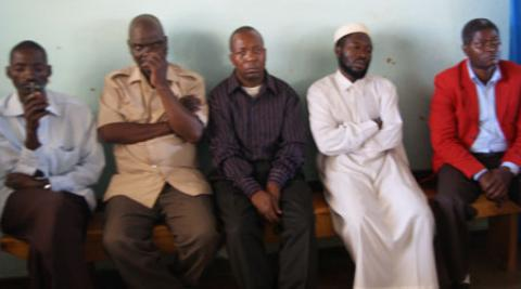 Faith leaders in Malawi