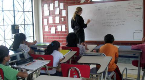 Teaching at Casa de la Juventud