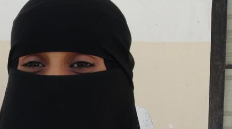 Rahmah Abdul-Raheem Al Kadasi, member of the Youth Movement in Yemen
