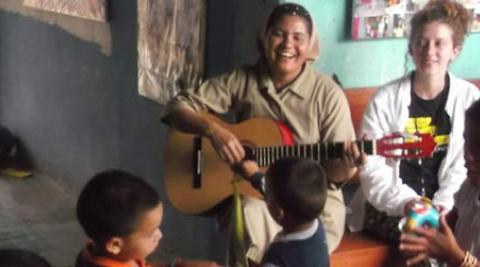 Sister Edith in Honduras