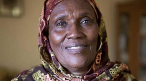 Fatumo Shaib, 55, is a member of women's network Nagaad