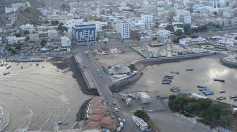 Aden (Crater  area) and fishing market (© Prachanda Man Shrestha)