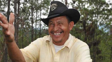Alberto Granados is a farmer in Honduras tackling loggers