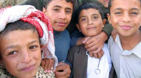 Children in Yemen
