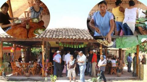 Indigenous restaurant in Totogalpa, Nicaragua