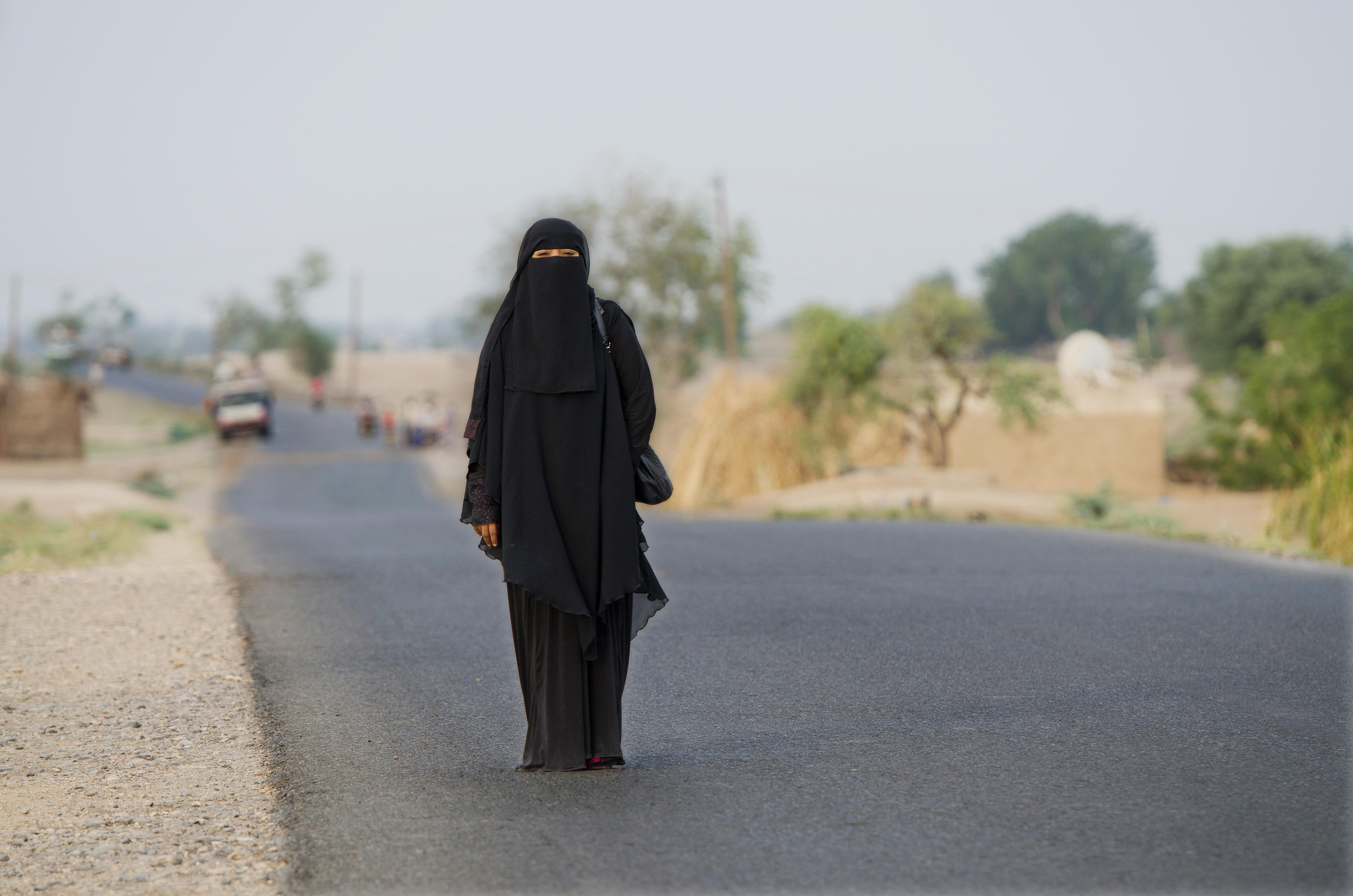 Safia, one of the women who we worked alongside as part of Progressio's WASH project in Yemen, 2014. © Amira Al-Sharif/Progressio